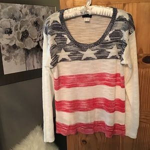 Flag sweater